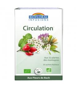 Infusion Circulation BIO - 20 sachets - Biofloral