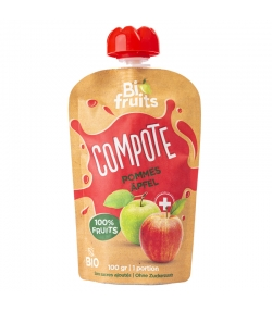 Compote pommes BIO - 100g - BioFruits