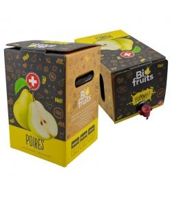 Jus de poires filtré BIO en bag-in-box - 5l - BioFruits