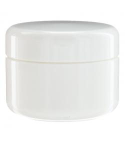 Pot en plastique blanc 50ml avec couvercle à vis - 1 pièce - Aromadis