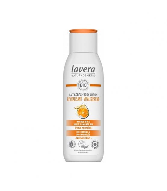 Vitalisierende BIO-Bodylotion Orange & Mandel - 200ml - Lavera Basis Sensitiv