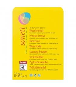 Lessive poudre écologique universelle - 42 lavages - 2,4kg - Sonett