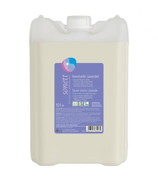 Savon liquide mains, visage & corps écologique lavande - 10l - Sonett
