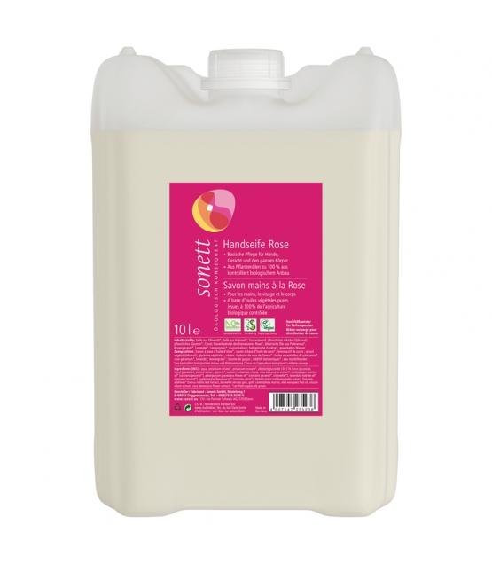 Savon liquide mains, visage & corps écologique rose - 10l - Sonett