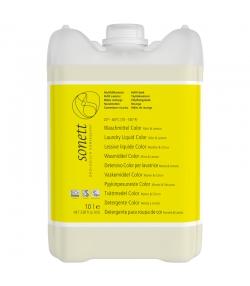 Lessive liquide écologique pour linge de couleur menthe & lemongrass - 140 lavages - 10l - Sonett