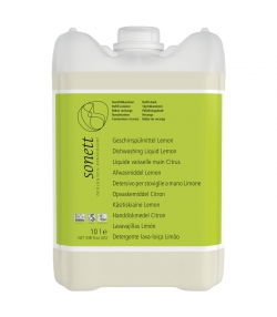 Ökologisches Geschirrspülmittel Lemongrass - 10l - Sonett