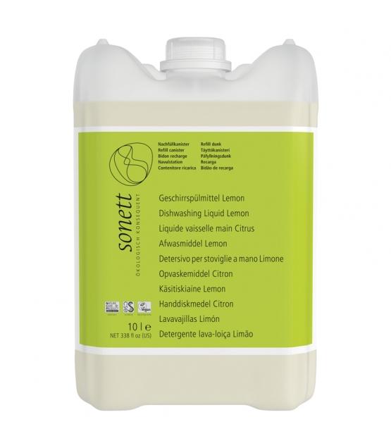Liquide vaisselle écologique lemongrass - 10l - Sonett