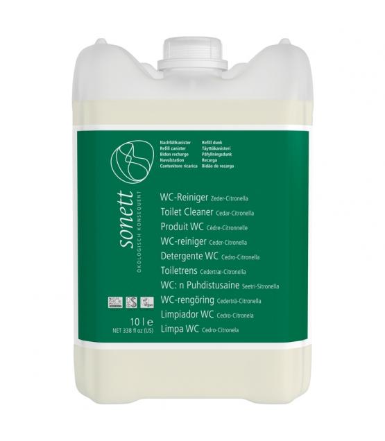 Nettoyant WC écologique cèdre & citronnelle - 10l - Sonett