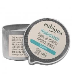 Sensitive BIO-Massagekerze Duftfrei - 50ml- Eubiona