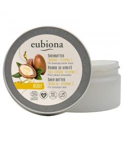 Beurre de karité à l'huile d'argan & la vitamine E BIO - 100ml - Eubiona