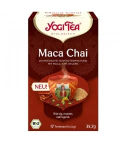Infusion de maca, cannelle & clous de girofle BIO - Maca Chai - 17 sachets - Yogi Tea