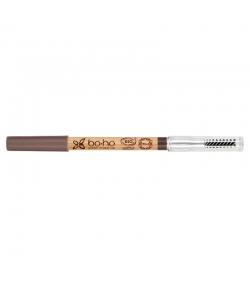 Crayon à sourcils BIO N°02 Châtain - 1,04g - Boho Green Make-up