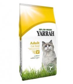 Croquettes BIO poulet pour chat - 3kg - Yarrah