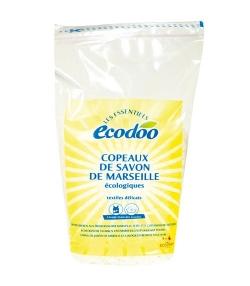 """Copeaux de savon de Marseille écologiques pour textiles délicats """"Les Essentiels"""" - 1kg - Ecodoo"""