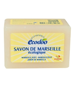 """Savon de Marseille écologique """"Les Essentiels"""" - 400g - Ecodoo"""