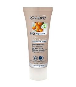 Crème de nuit BIO argousier - 30ml - Logona Age Protection