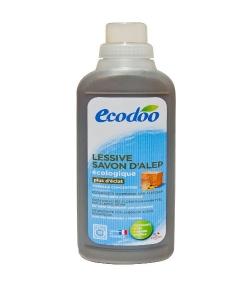 Lessive liquide écologique au savon d'Alep BIO - 30 lavages - 1l - Ecodoo