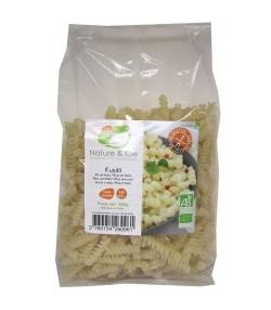 Fusilli de riz & maïs BIO - Sans gluten - 500g - Nature&Cie