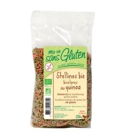 Stellines bicolores de maïs & quinoa BIO - Sans gluten - 250g - Ma vie sans gluten