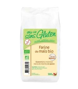 Farine de maïs BIO - Sans gluten - 500g - Ma vie sans gluten