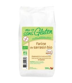 Farine de sarrasin BIO - Sans gluten - 500g - Ma vie sans gluten