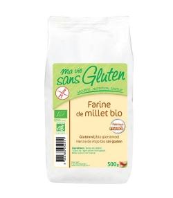 Farine de millet BIO - Sans gluten - 500g - Ma vie sans gluten