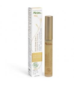 Soin gloss 2 en 1 BIO miel - Lèvres de miel - 5ml - Melvita Apicosma