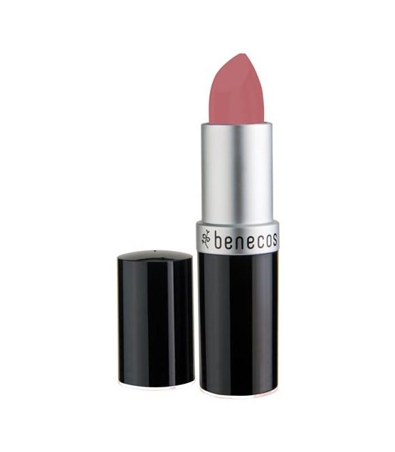 bio lippenstift matt sanftes rosa pink rose 4 5g benecos. Black Bedroom Furniture Sets. Home Design Ideas