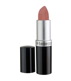 BIO-Lippenstift matt Leicht bräunliches Rosa – Pink honey – 4,5g – Benecos