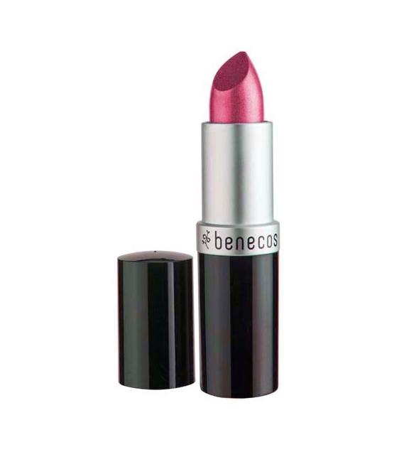 Rouge à lèvres nacré BIO Rose vif - Hot pink - 4,5g - Benecos