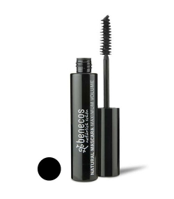 Mascara maximum volume BIO Noir – Deep black – 8ml – Benecos