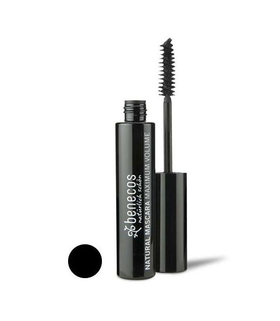 BIO-Mascara Maximum Volume Schwarz – Deep black – 8ml – Benecos