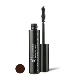 Mascara maximum volume BIO Brun – Smooth brown – 8ml – Benecos