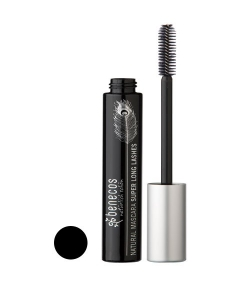 BIO-Mascara Super Lang Schwarz – Carbon black – 8ml – Benecos