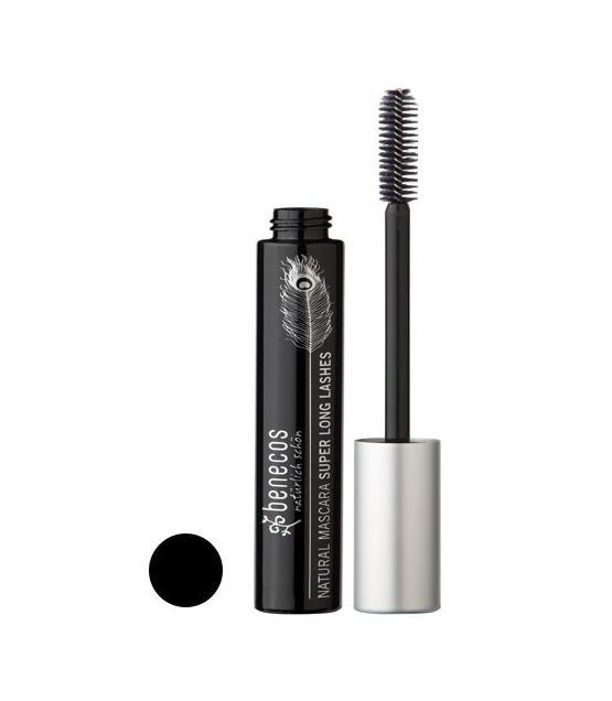 BIO-Mascara Super Lange Schwarz – Carbon black – 8ml – Benecos