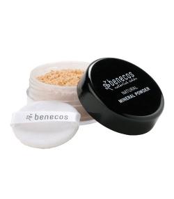 Poudre libre BIO Sable clair – Light sand – 10g – Benecos
