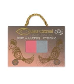 BIO-Lidschatten Duo perlmutt N°134 Pearl – 2,5g – Couleur Caramel