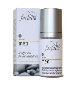 Fluide hydratant raffermissant homme BIO maca – 30ml – Farfalla Men