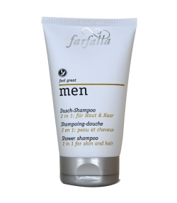 Shampooing douche homme BIO maca – 150ml – Farfalla Men