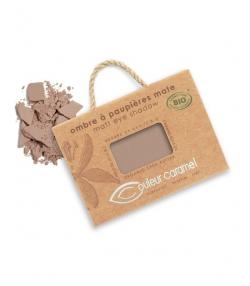 BIO-Lidschatten matt N°006 Kastanienbraun – 2,5g – Couleur Caramel