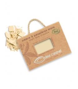 Lidschatten matt N°008 Gelb Beige – 2,5g – Couleur Caramel