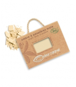 BIO-Lidschatten matt N°008 Gelb Beige – 2,5g – Couleur Caramel