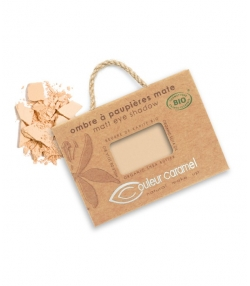 Ombre à paupières mate BIO N°011 Beige rosé – 2,5g – Couleur Caramel