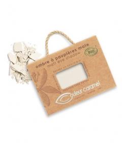 Ombre à paupières mate N°026 Blanc – 2,5g – Couleur Caramel