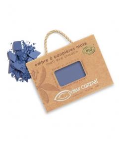 BIO-Lidschatten matt N°076 Marine Blau – 2,5g – Couleur Caramel
