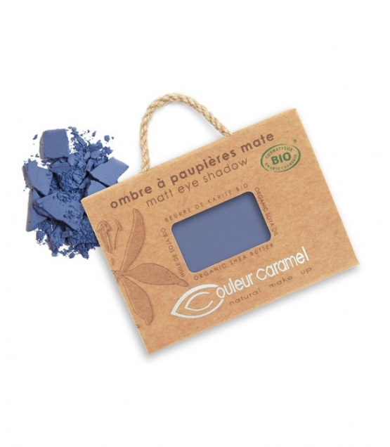 Lidschatten matt N°076 Marine Blau – 2,5g – Couleur Caramel