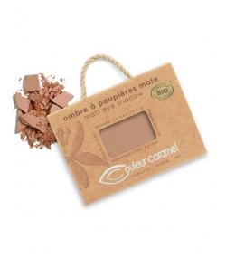 Ombre à paupières mate BIO N°080 Cacao – 2,5g – Couleur Caramel