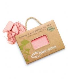 Ombre à paupières nacrée BIO N°016 Rose – 2,5g – Couleur Caramel