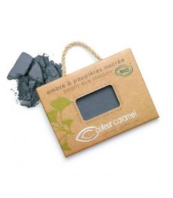 Ombre à paupières nacrée BIO N°049 Gris anthracite – 2,5g – Couleur Caramel