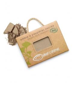 BIO-Lidschatten perlmutt N°056 Kaki Braun – 2,5g – Couleur Caramel